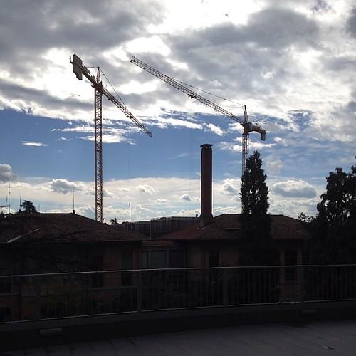 Cantiere in corso #igersfc #campusdiforli #trefolo #nofilter #forli #viaggioinromagna