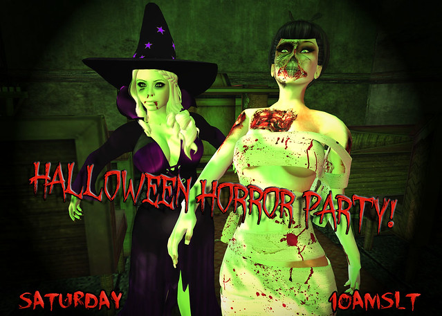 ExN Halloween Horror Party Poster