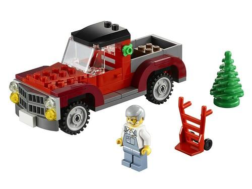 40083 Christmas Tree Truck 00