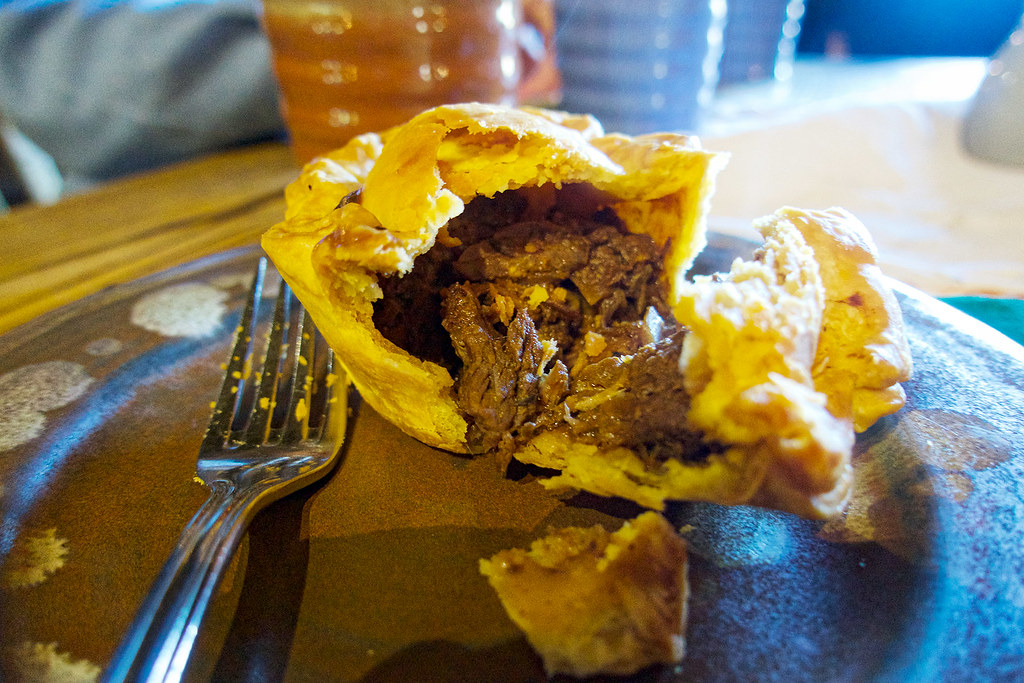 For an extra fee, you can try the beef and ale pie or various menu items at the Green Dragon Inn. Definitely worth it!