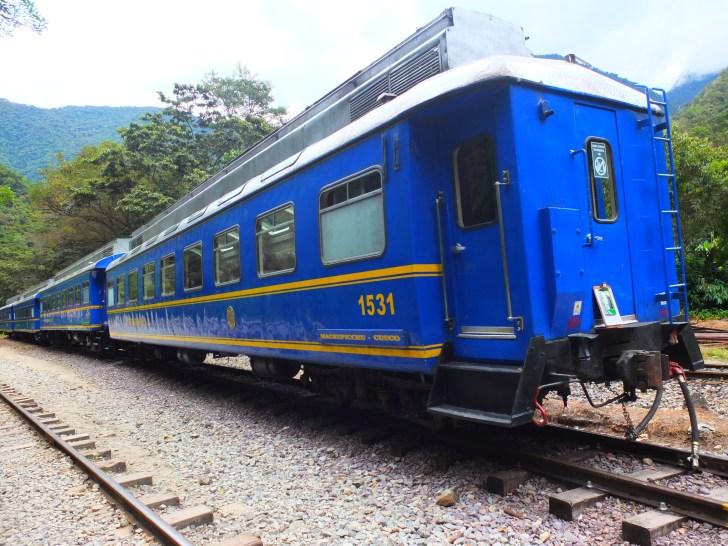マチュピチュ電車