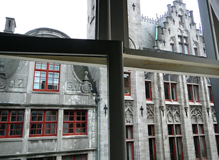 B&B Verdi in Bruges - the view from El's room