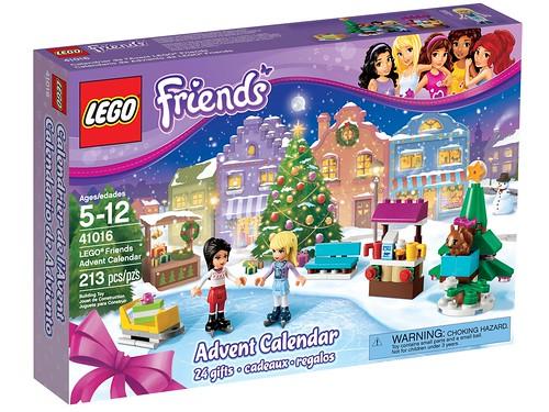 41016 LEGO Friends Advent Calendar BOX