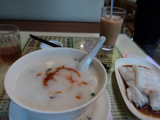 congee at new five dragon