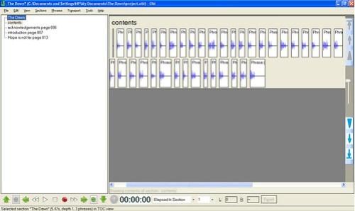 โปรแกรม Obi พัฒนาโดย DAISY Consortium