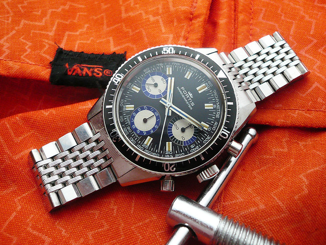 Fortis Marinemaster 8001 Blue