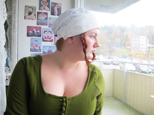 Wearing my veil - 12