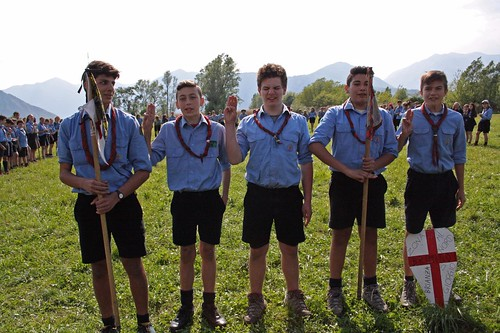 Squadriglia Lupo - Prima classificata