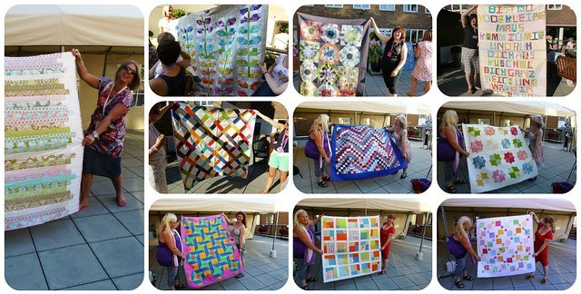 FQR13 Show & Tell & Siblings Together quilts