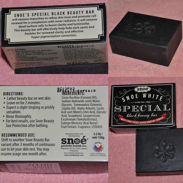 Snoe Special Black Beauty Bar