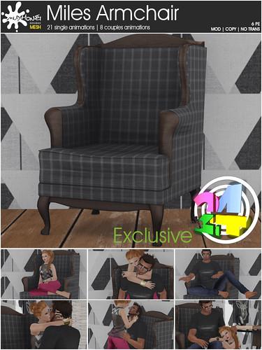 mudhoney miles armchair
