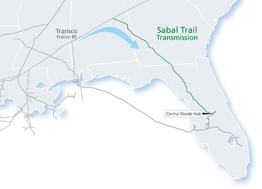 Sabal Trail Route Map