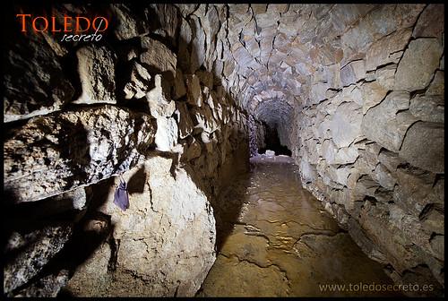 Túneles del acueducto Toledo