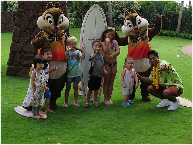 Surf with Chip & Dale