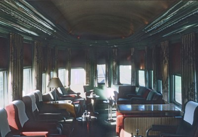Panama Limited Interiors in 1964