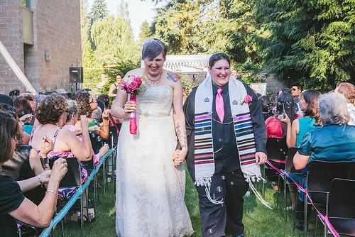 Raina + Michelle Finally Married!