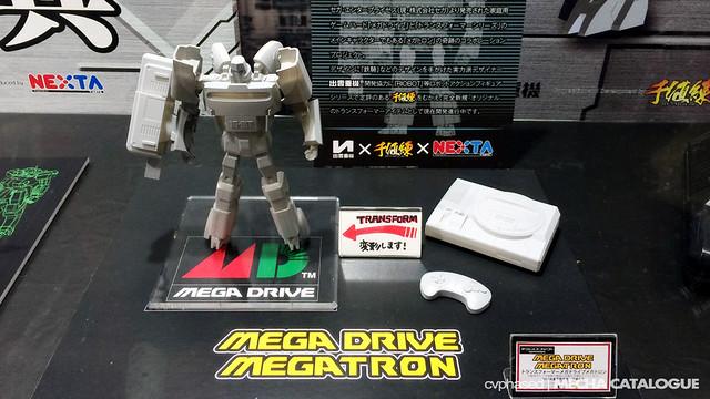 Wonder Festival Winter 2014 - Mega Drive Megatron