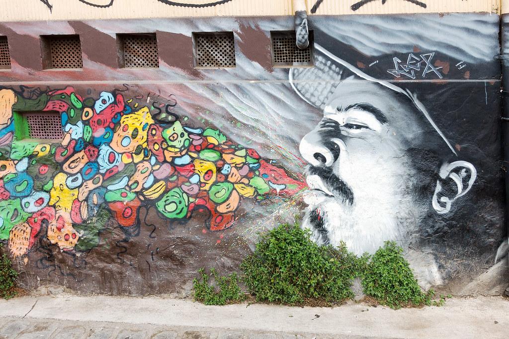 Street Art Valparaiso 06