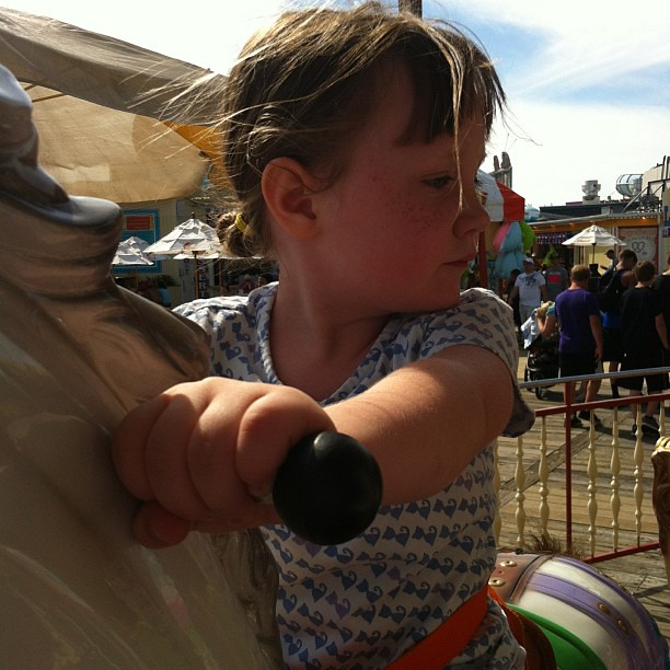 What's over there? #carousel #amusementpark