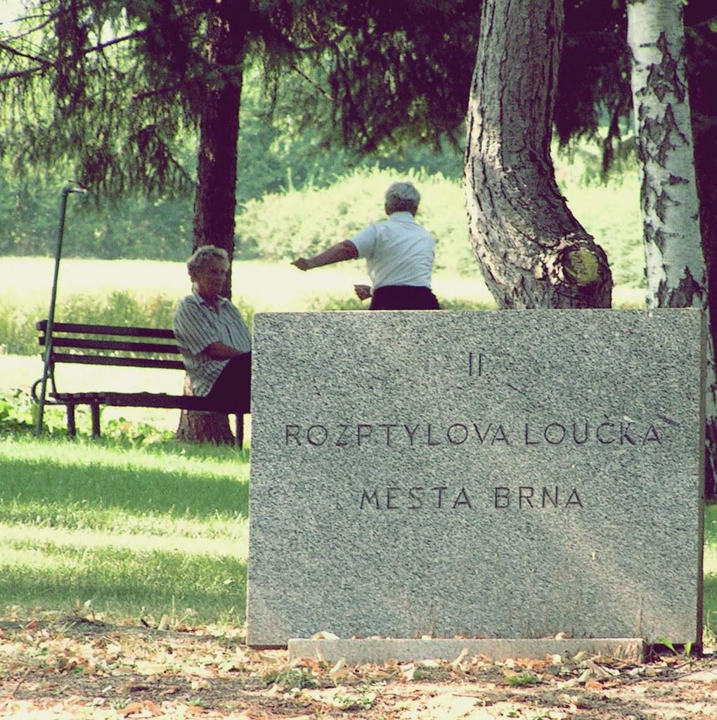 People on Cemetery