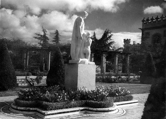 Palacio de la Sisla en 1935. Fotografía Josep Gaspar i Serra © Arxiu Nacional de Catalunya. Signatura ANC1-23-N-1553jpg
