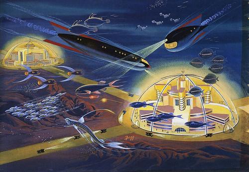 Retro Sci-Fi Future by roborange