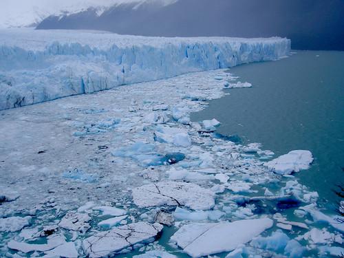El Perito Moreno desde las pasarelas