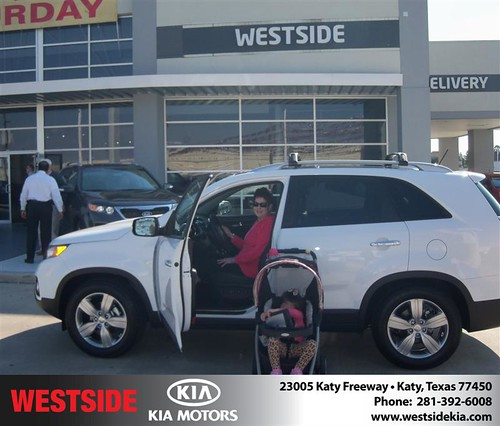 Happy Anniversary to Thomas M Buchanan on your 2013 #Kia #Sorento from Rizkallah Elhallal and everyone at Westside Kia! #Anniversary by Westside KIA