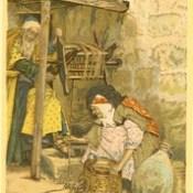 Phillip Medhurst presents 401/740 James Tissot Bible c 1900 Portrait of Zachariah and Elizabeth