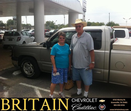 Wilson Cadillac: Thank You To Dewain Wilson On Your New 2003 Chevrolet Silverado 1500 From Scott Monroe And
