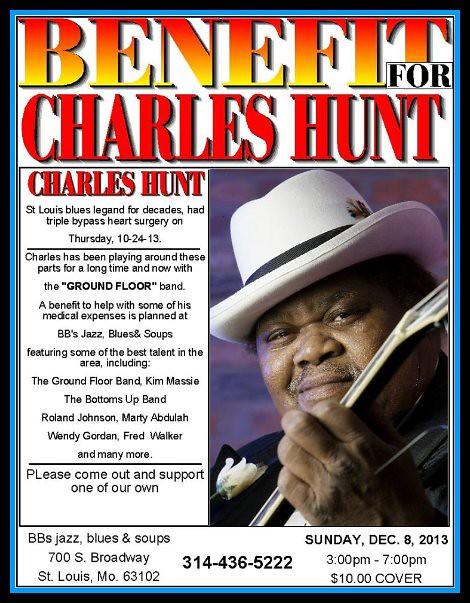 Charles Hunt Benefit 12-8-13