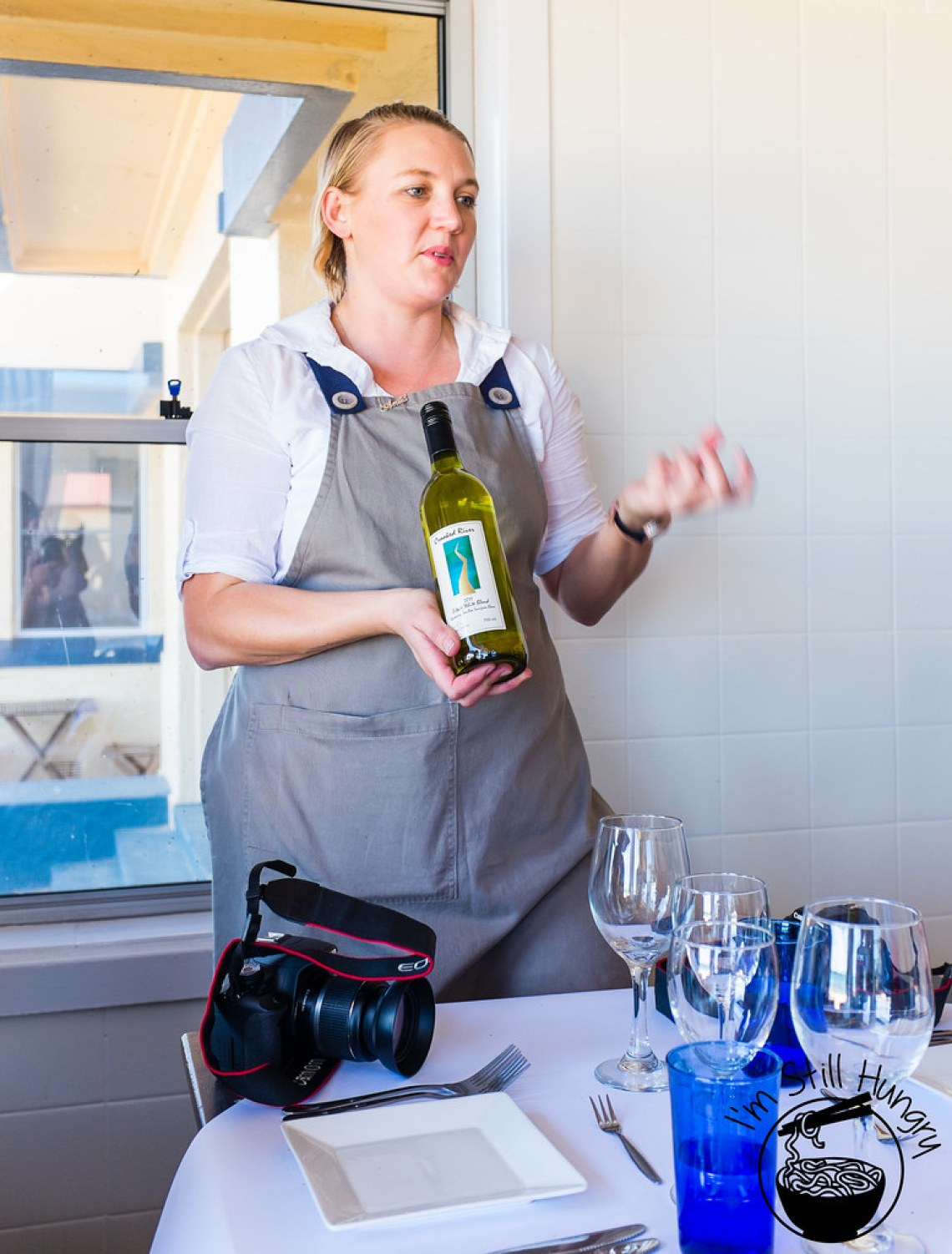 Cooked River 2011 Estate White Blend Chardonnay Flanagan's Dining Room