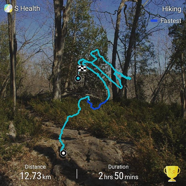 Crawford Lake and Rattlesnake Point Trail Route