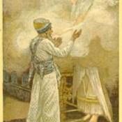 Phillip Medhurst presents 402/740 James Tissot Bible c 1900 The Vision of Zachariah Brooklyn Museum New York