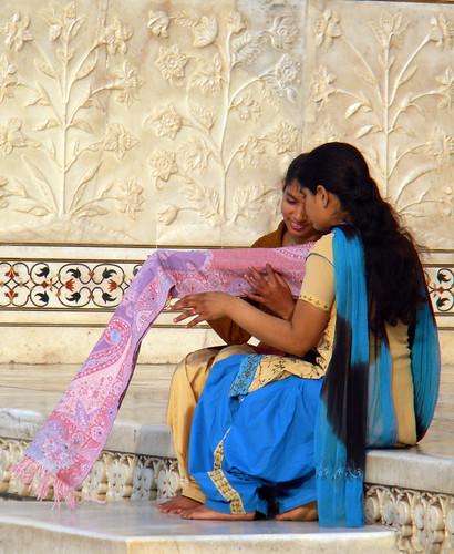Taj Mahal at Agra, India