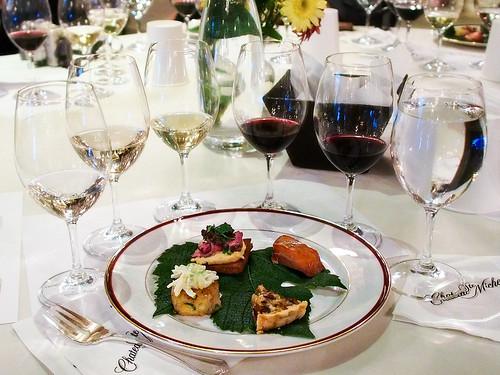 Wine and Food Sampling