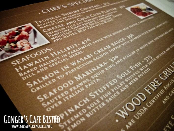 Ginger's Cafe Bistro