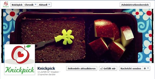 Knickpick now @ Facebook