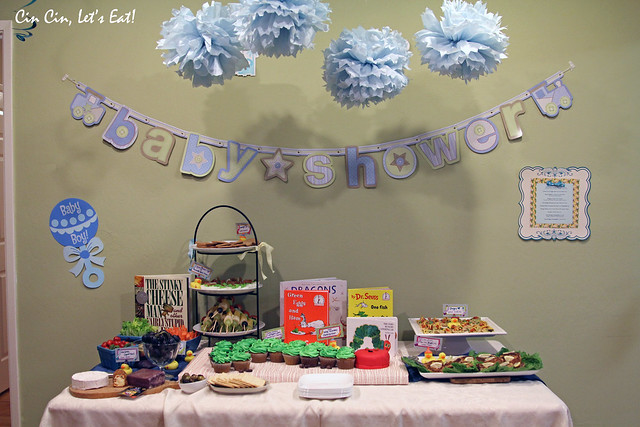 baby shower - spread