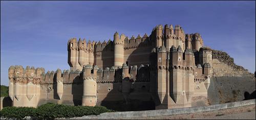 Castillo de Coca . Segovia .