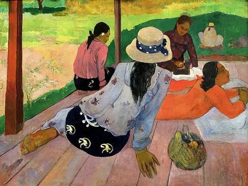 Paul Gauguin, Siesta, 1893