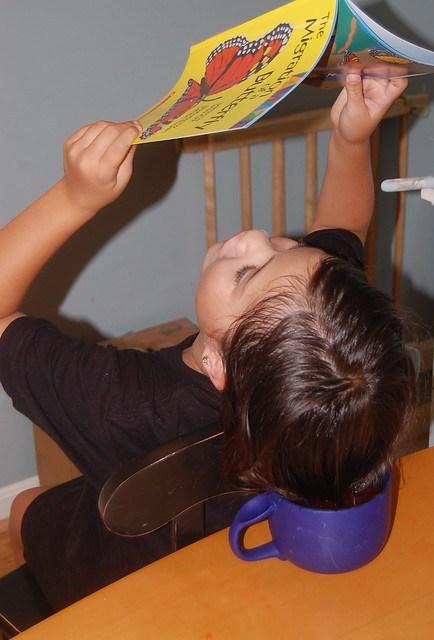 dip-dyeing hair with Kool-Aid
