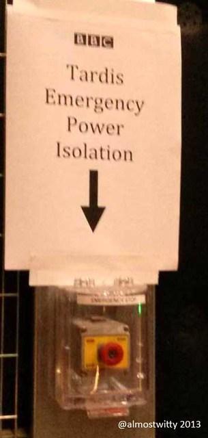 TARDIS power isolator
