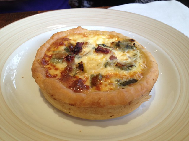 Leek and bacon quiche - Miss Manon