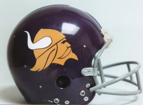 Minnesota Vikings First Helmet