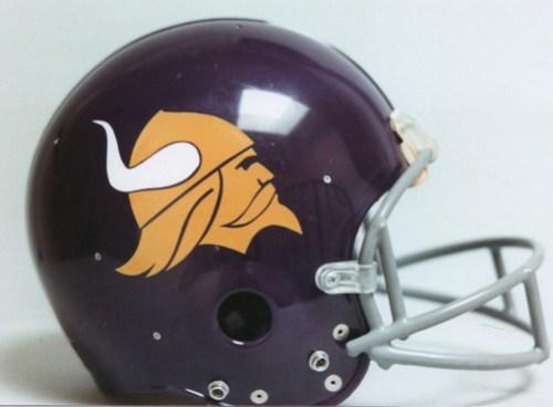 Minnesota Vikings First Helmet