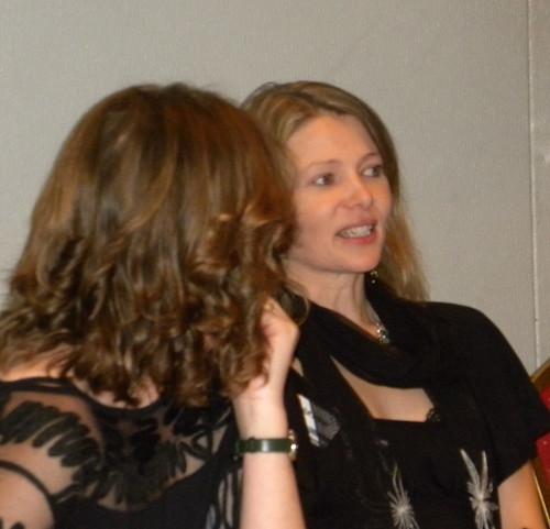 Caroline Green and Ruth Eastham