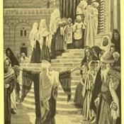 "James Tissot Bible c 1900 The presentation of Jesus in the Temple Brooklyn Museum New York from ""La Vie de Notre Seigneur Jésus Christ"