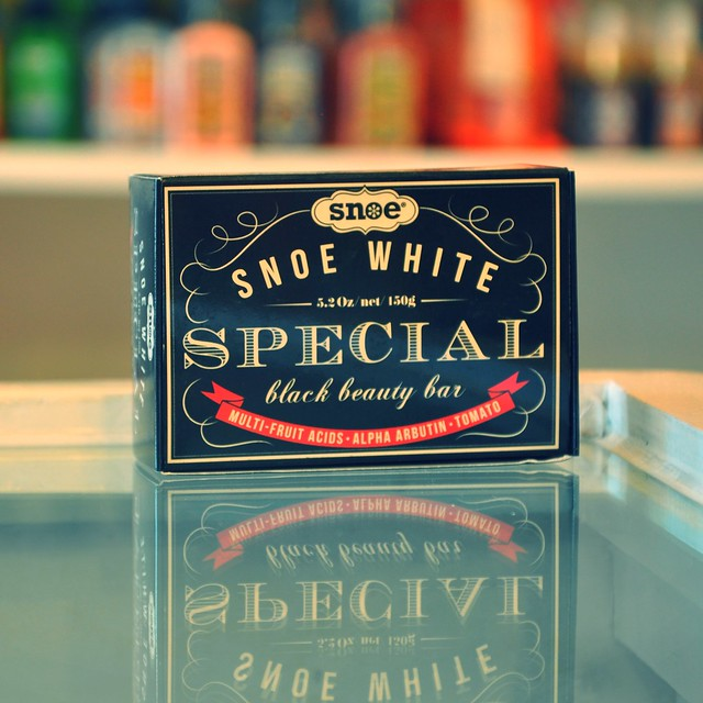 Snoe White Special Black Beauty Bar