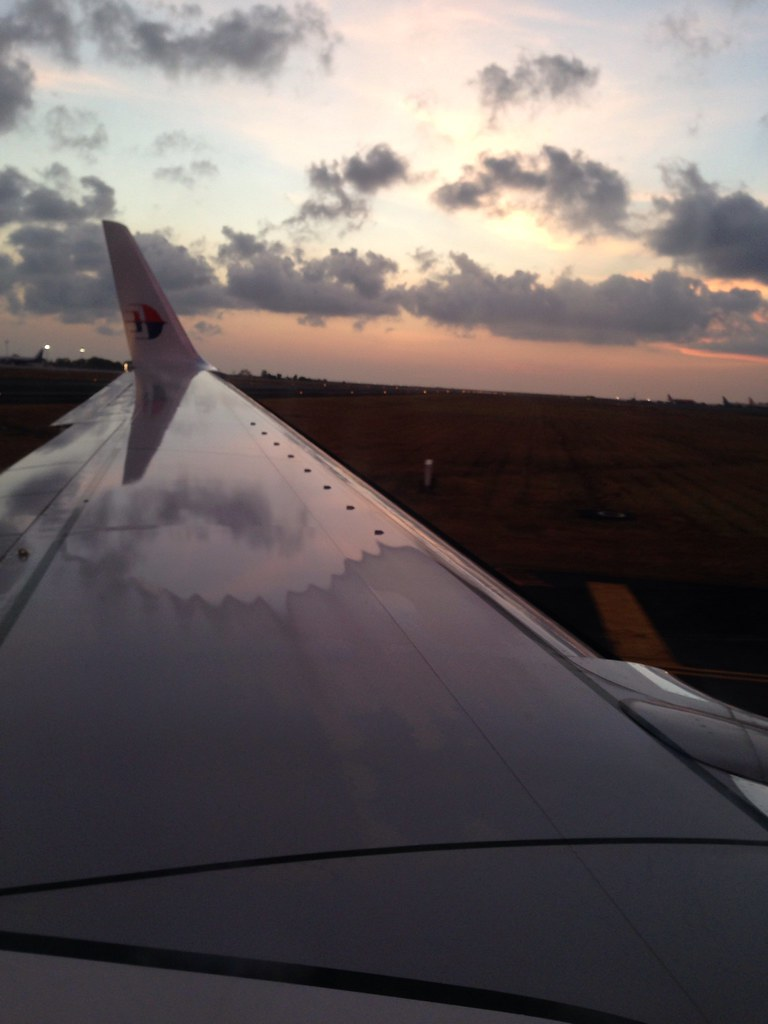 Sunset Landing at Bali